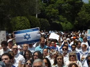 manifestacion pro israel 1108