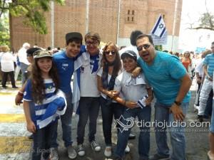 manifestacion pro israel 1186