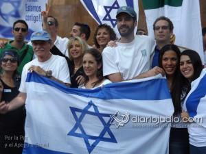 manifestacion pro israel 1195