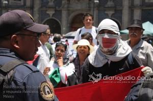 Manifestacion Pro Israel Hemicili Juarez  130