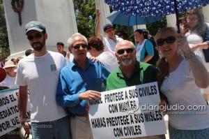 Manifestacion Pro Israel Hemicili Juarez  158
