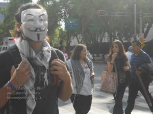 Manifestacion propalestina Mexico 1104