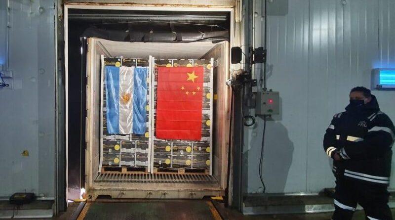 Desde APM Terminal 4 Buenos Aires, se realizó la primera exportación en la historia de limones a China