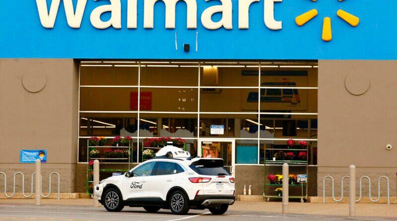 Ford se une a Walmart para lanzar un servicio de entrega a través de vehículos autónomos