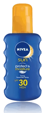 Nivea Sun Moisturising Spray, sunblock spray, nivea spray
