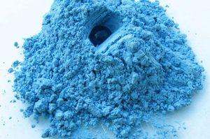 aplicația albastră de argilă varicoză