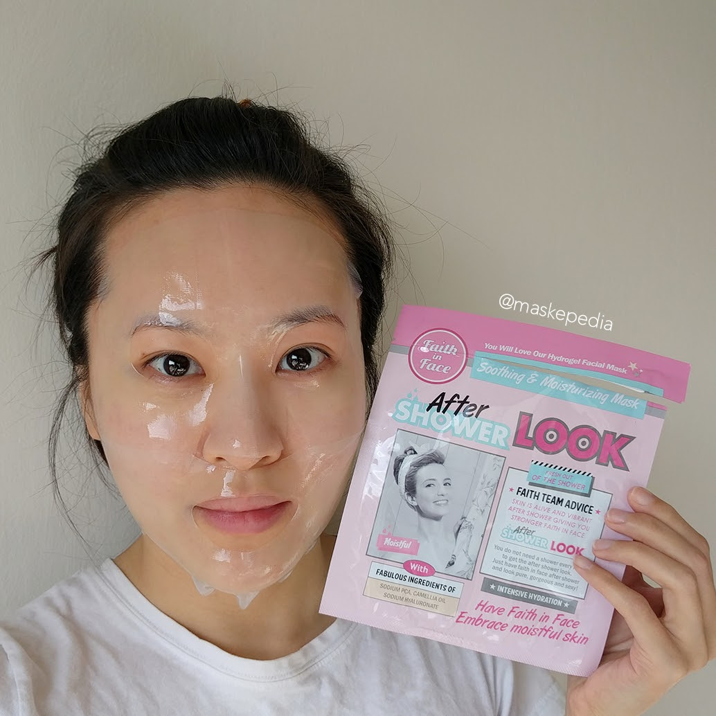 Faith in Face After Shower Look Hydrogel Mask