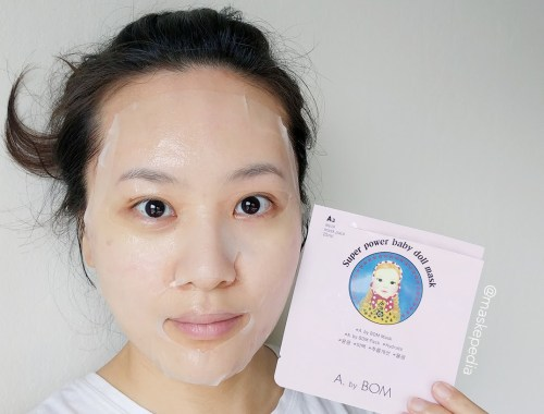 A by BOM Super Power Baby Doll Mask