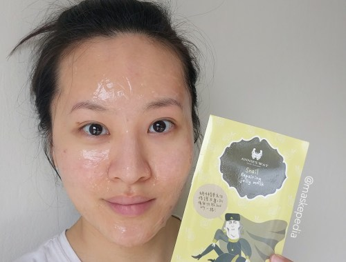 Annie's Way Snail Repairing Jelly Mask