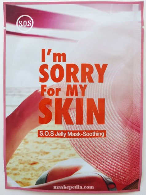 Ultru I'm Sorry For My Skin S.O.S. Jelly Mask in Soothing