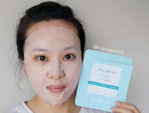 Thank You Farmer True Water Deep Cotton Mask