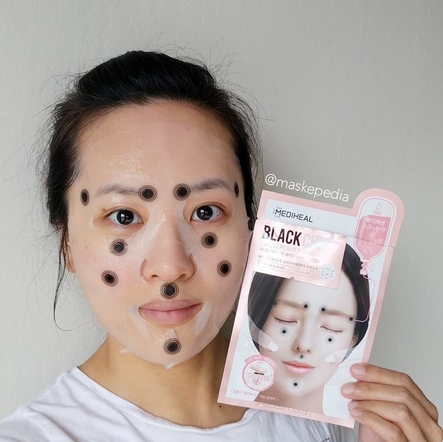Mediheal Black Chip Circle Point Mask (Swelling)
