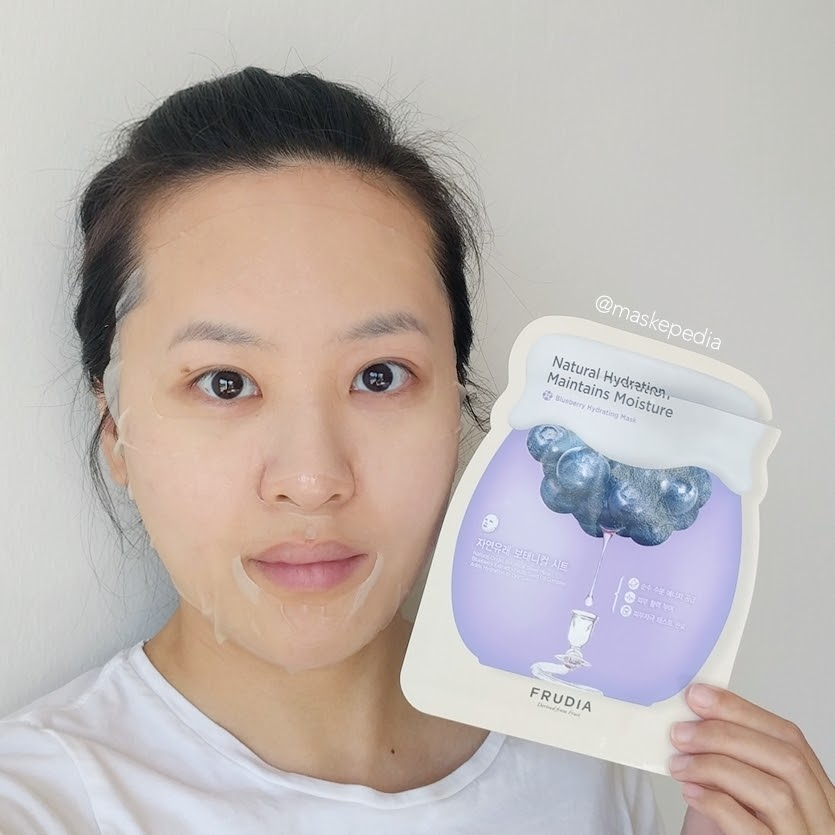 Frudia Blueberry Hydrating Mask