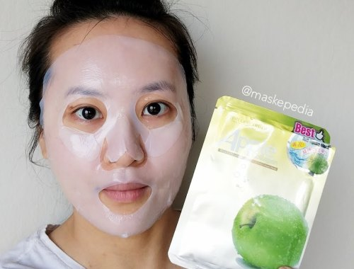 Timeless Truth Apple Stem Cell Collagen Bio Cellulose Mask