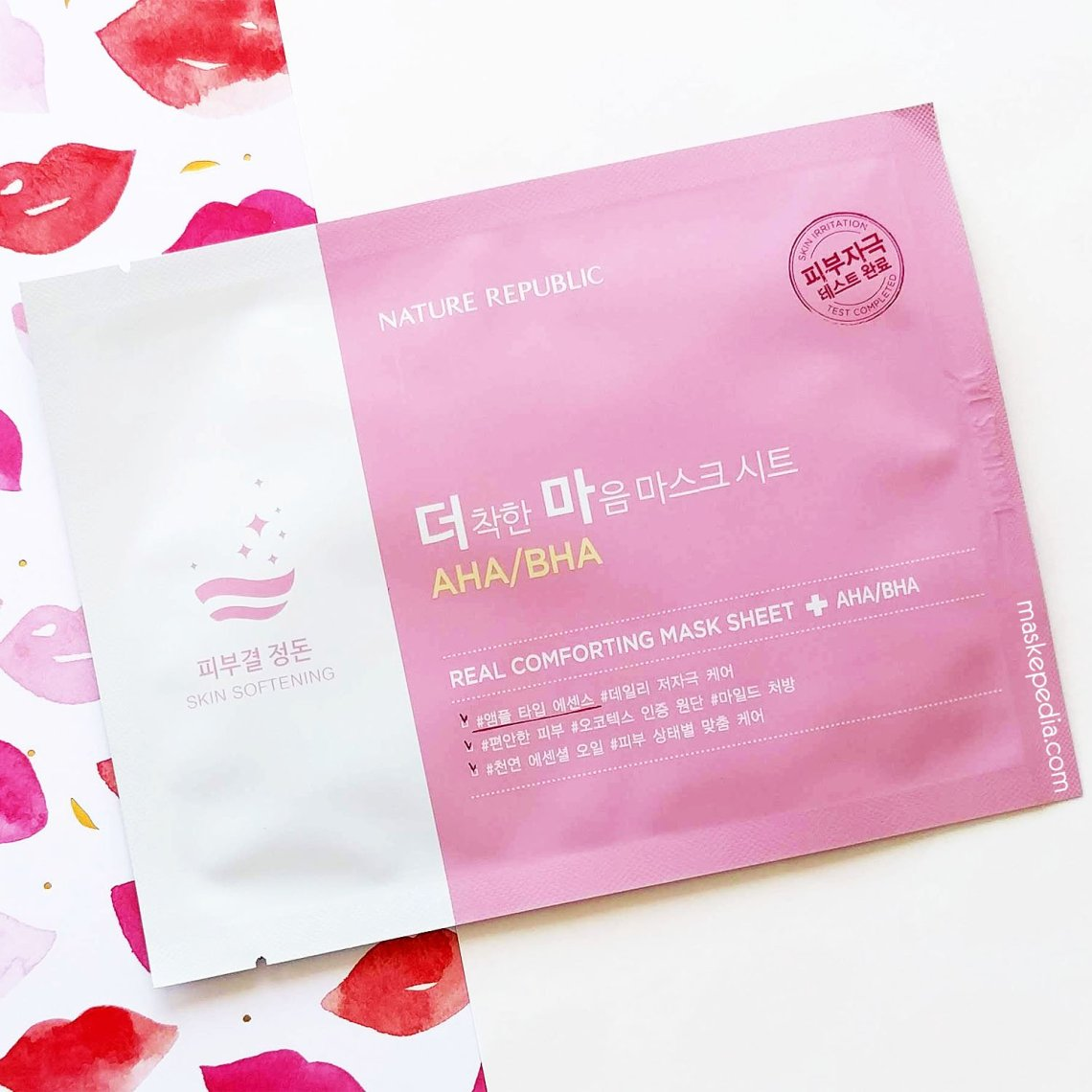 Nature Republic Real Comforting Mask Sheet - AHA/BHA