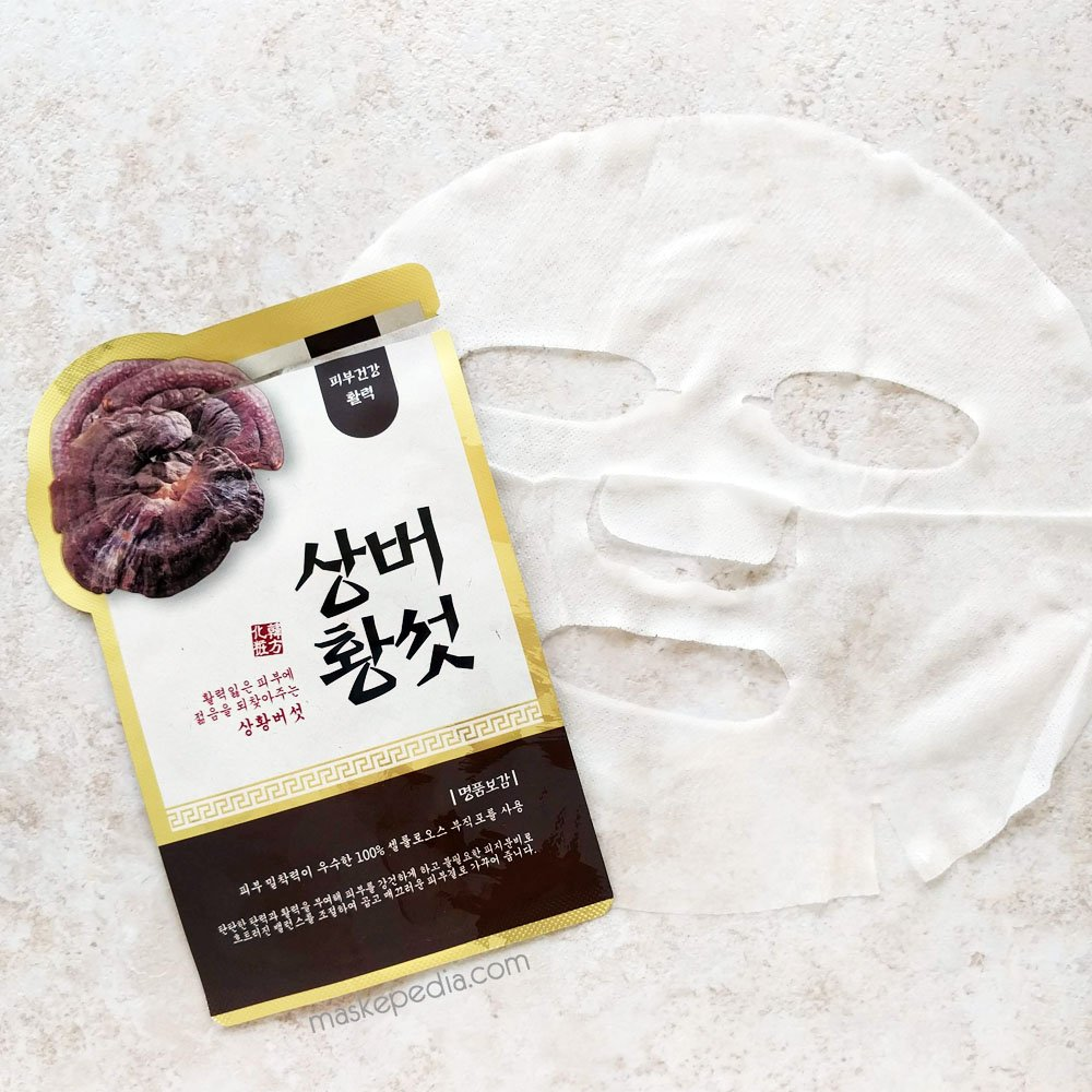 Evercos Bogam Herbal Clinic Sanghwang Mushroom (Phellinus) Sheet Mask