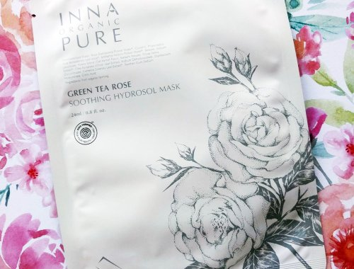 Inna Organic Green Tea Rose Soothing Hydrosol Mask