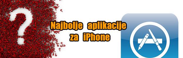 Najbolje aplikacije za iPhone (Dio Prvi)