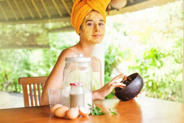 полезные питательные маски для лица