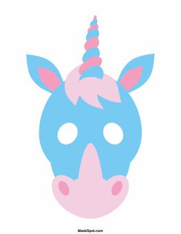 photograph regarding Printable Unicorn Mask called Cost-free Unicorn Printables Roundup