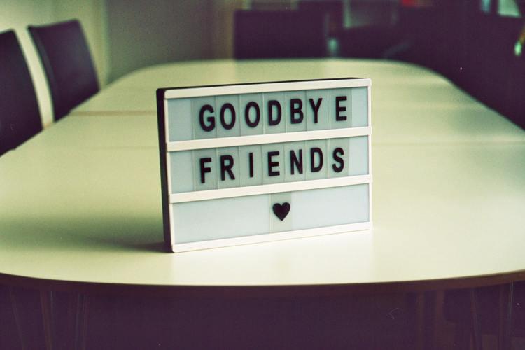 Ibland behöver du ta farväl