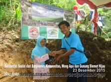 Solidaritas Sosial Berbagi Peduli bersama Banjoemas Komounita-Gunung Slamet Hijau Desa Baseh dan Wong APA (1)