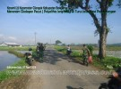 Koramil 23 Cilongok Banyumas Menanam Glodogan di Turus Jalan Desa Panembangan Cilongok (2)