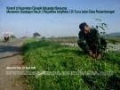 Koramil 23 Cilongok Banyumas Menanam Glodogan di Turus Jalan Desa Panembangan Cilongok (4)