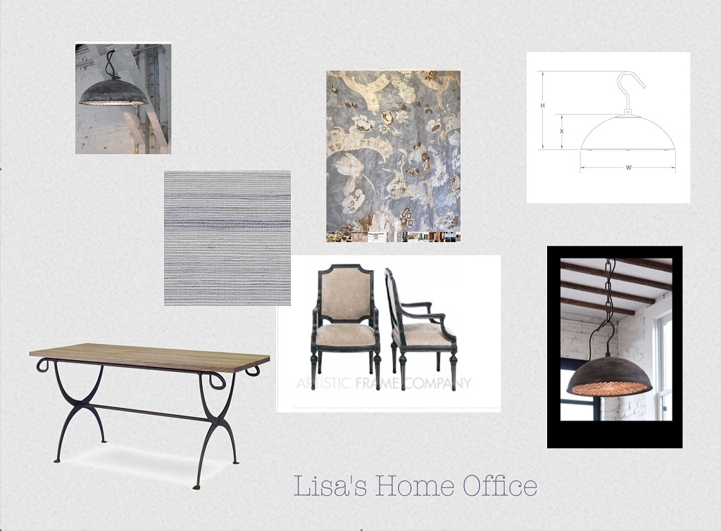 Home Office Concept Board