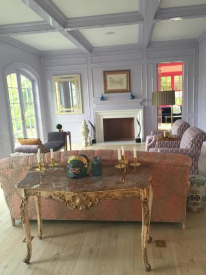 Living Room in Greenwich CT