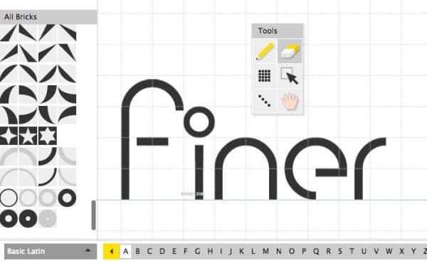 cara membuat font - FontStruct