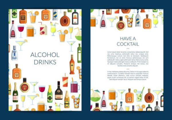 contoh brosur minuman