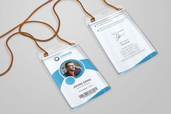 contoh desain id card 3