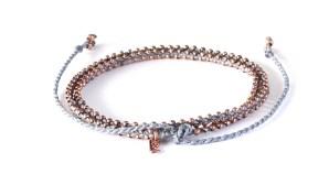 armband, blå, double wrap, Fair Trade, Guatemala, halsband, konsthantverk, koppar, Life Is What You Make of It, smycken