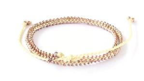 armband, double wrap, Fair Trade, Guatemala, gul, halsband, konsthantverk, koppar, Life Is What You Make of It, smycken