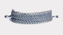 armband, blå, Fair Trade, P.S., silver, smycke, Wakami