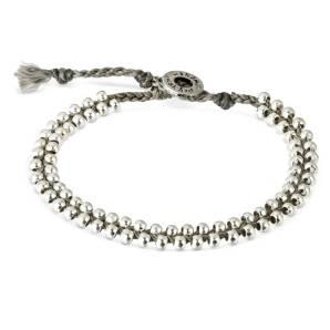Wakami armband Life is… silver/grått WA0515-05