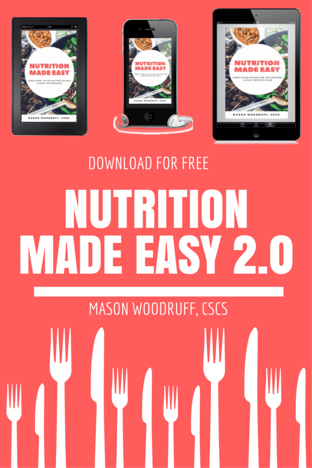 nutrition made easy 2.0 by mason woodruff