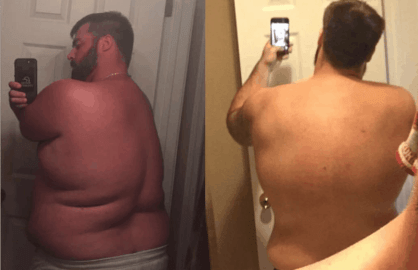 weight loss success story tyler richmond