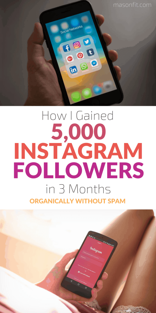 The strategies I used to gain 5,000 Instagram followers in 3 months without spamming people. #instagram #digitalmarketing #blogging #socialmediamarketing