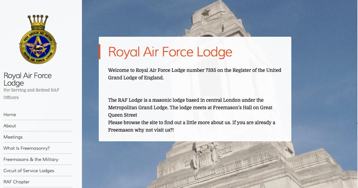 RAF Lodge