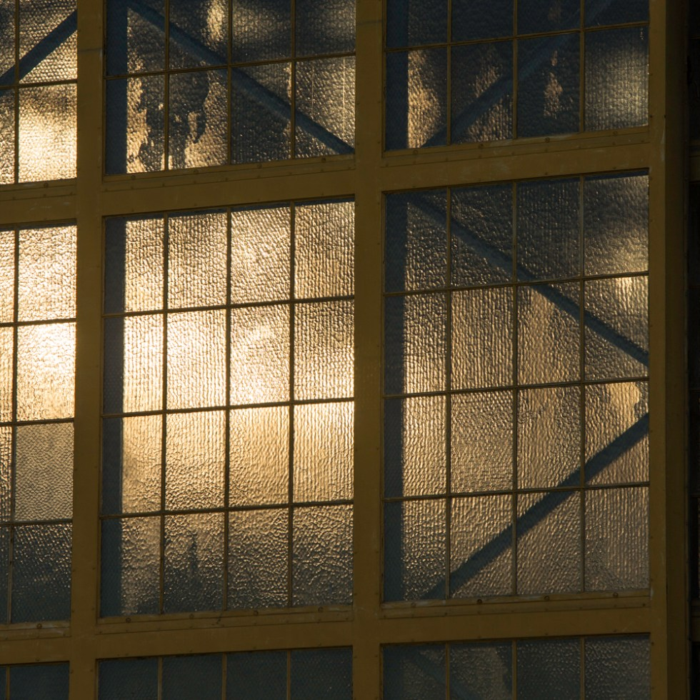 Backlight windows in old warehouse