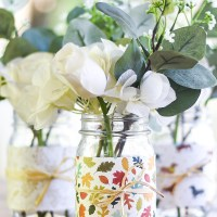 Easy Fall Mason Jar Craft
