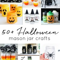 Halloween Mason Jar Craft Ideas