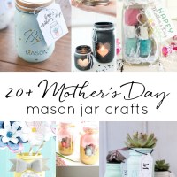 Homemade Mother's Day Gift Ideas in Jars