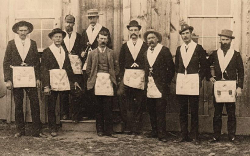 Officers vintage photo