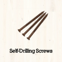 Self-Drilling Deck Screws #8 x 2″ 350pc Image
