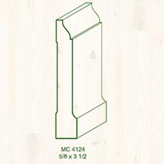 MC-4124 5/8 x 3 1/2 Image
