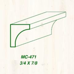 MC-471 3/4 x 7/8 Image