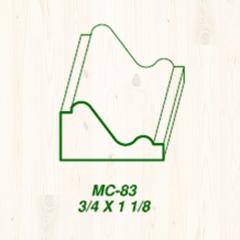 MC-83 3/4 x 1 1/8 Image